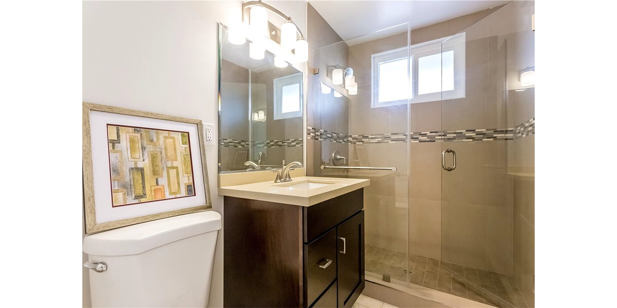 bath remodel flip house