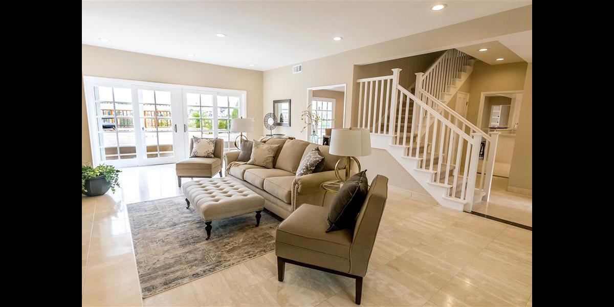 living room remodel flip house
